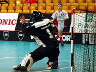 All Star Goalkeeper B-Division Kristian Ten Hof/Päivi Väänänen